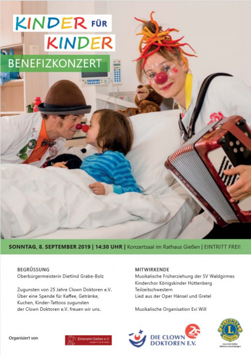 Kinder für Kinder-Benefizkonzert in Gießen 01