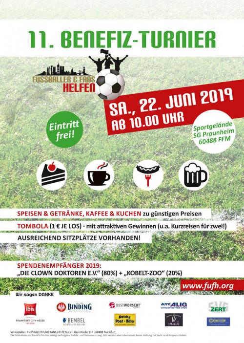 Benefiz-Fußballturnier in Frankfurt 01
