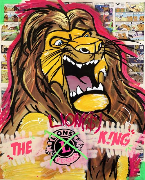 """""""The Lion(s) King"""": 3. Lions-Kunstedition für den guten Zweck 01"""