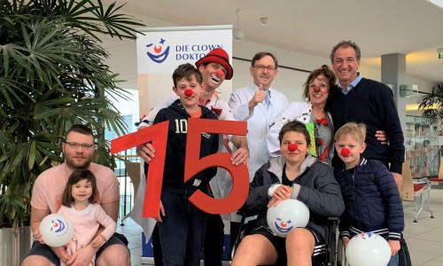 15 Jahre Clowndoktoren in Marburg