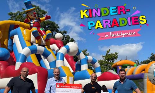 Riesendank an Heidelberger Kinderparadies-Gäste