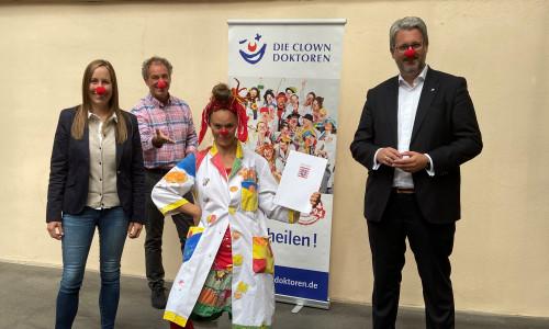 12.200 Euro Fördermittel an DIE CLOWN DOKTOREN E.V.