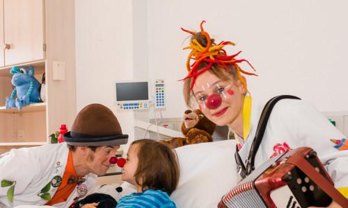 Große Dachverbands-Spendengala für Klinikclowns