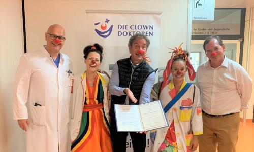 Dr. Ike Roland Förderpreis geht an die Clowndoktoren
