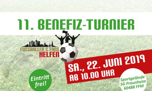 Benefiz-Fußballturnier in Frankfurt