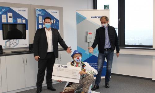 tetronik Kommunikationstechnik unterstützt drei Vereine aus der Region